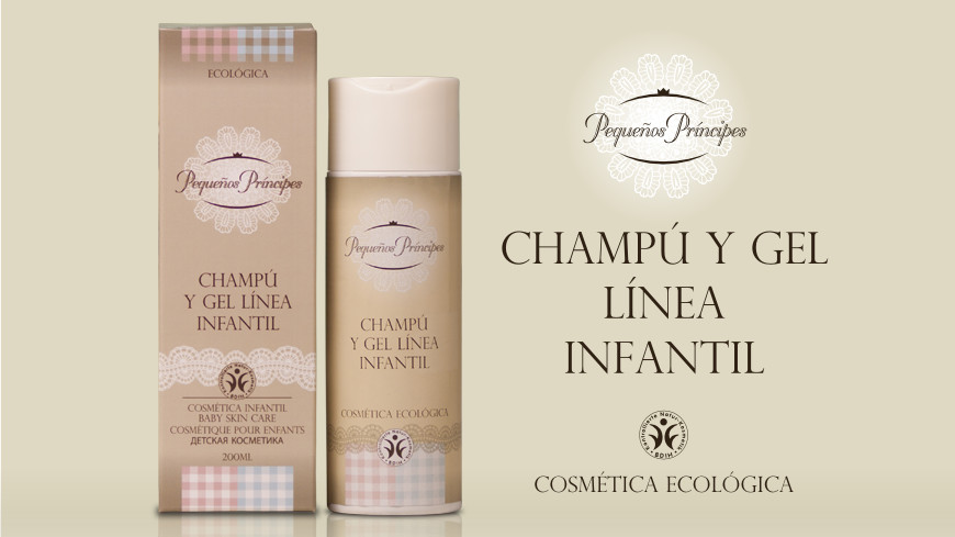 Pequeños Príncipes organic natural shampoo and gel